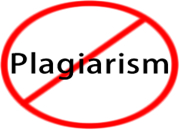 no plagiarism policy